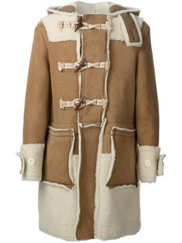 Sacai Shearling Duffle Coat