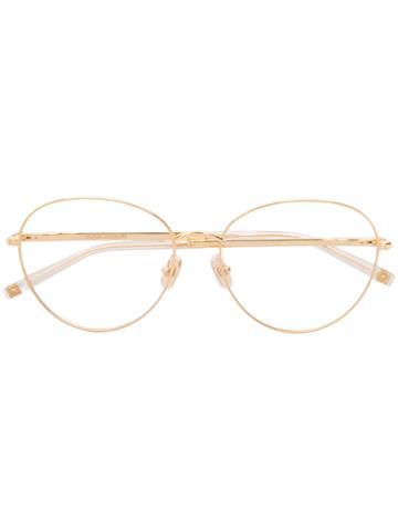 Boucheron Round Frame Glasses - Metallic