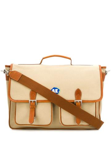 Ader Error Two-tone Messenger Bag - Brown