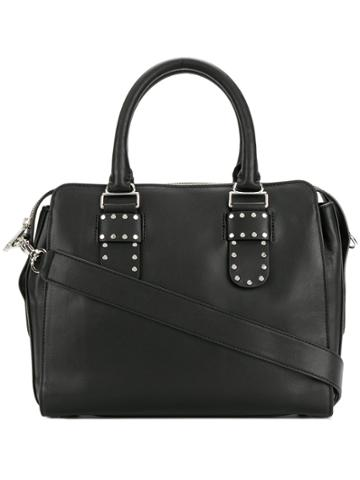 Rebecca Minkoff Midnighter Work Satchel Tote - Black