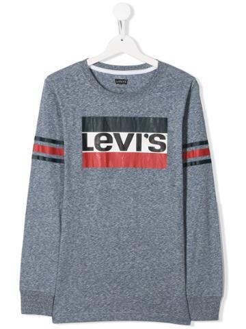 Levi's Kids Teen Logo Sweatshirt - Grey