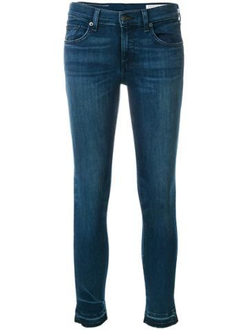 Rag & Bone /jean Skinny Denim Jeans - Blue