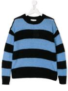 Les Coyotes De Paris Striped Jumper - Black