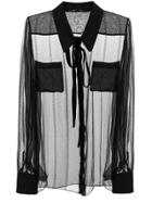 Rochas Sheer Blouse - Unavailable