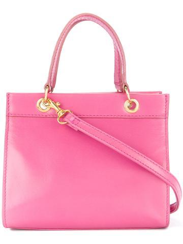 Céline Vintage Mini 2way Bag - Pink & Purple