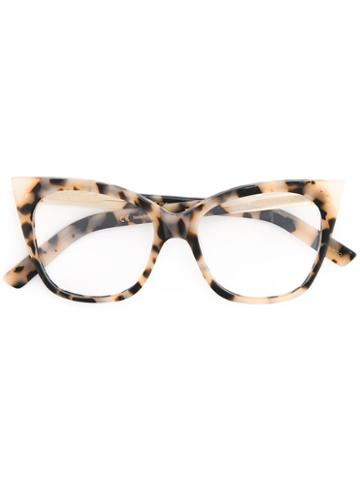 Pared Eyewear Cat & Mouse Glasses, Brown, Plastic