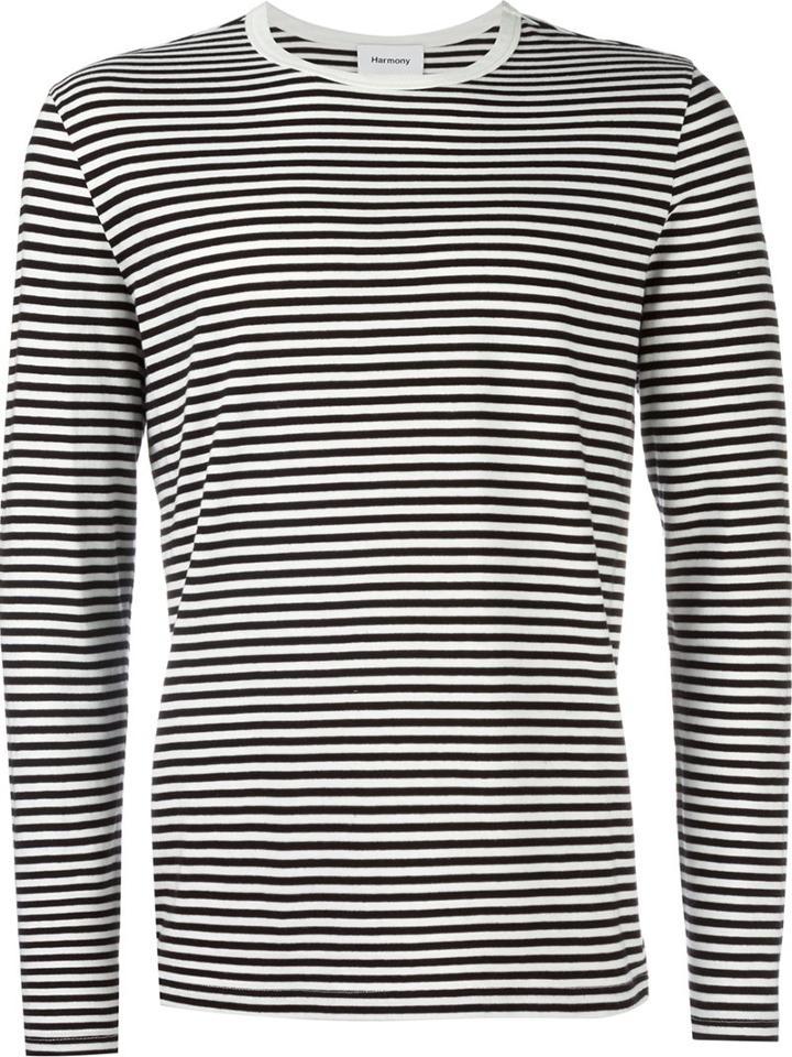 Harmony Paris Striped Pullover