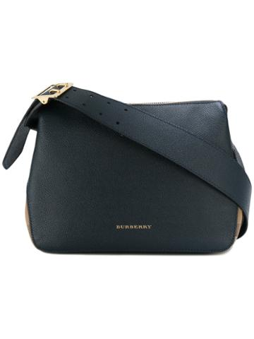 Burberry - Small Helmsley Shoulder Bag - Women - Cotton/leather - One Size, Blue, Cotton/leather