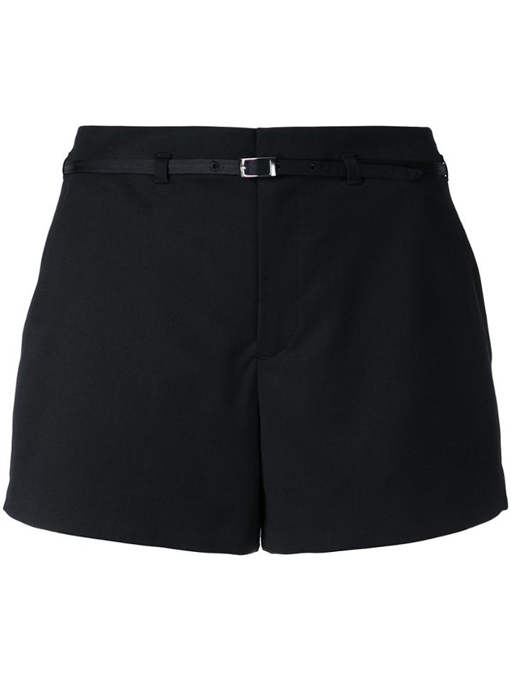Loveless Belted Shorts - Black