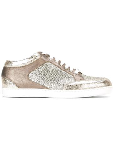 Jimmy Choo 'miami' Sneakers - Metallic