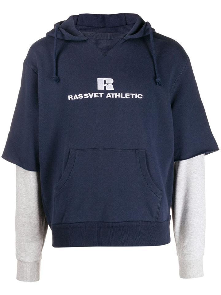 Rassvet Hooded Sweatshirt - Blue