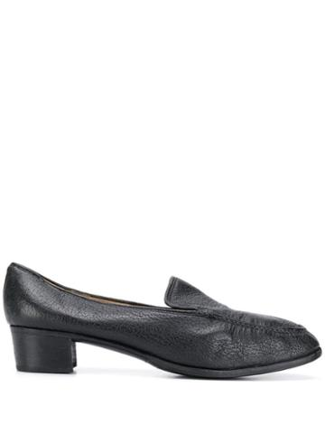 Gucci Pre-owned 1960's Heeled Loafers - Black