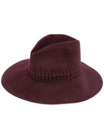 Lola Hats Fretwork Hat - Red