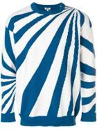 Kenzo Psychedelic Intarsia Stripe Jumper - White