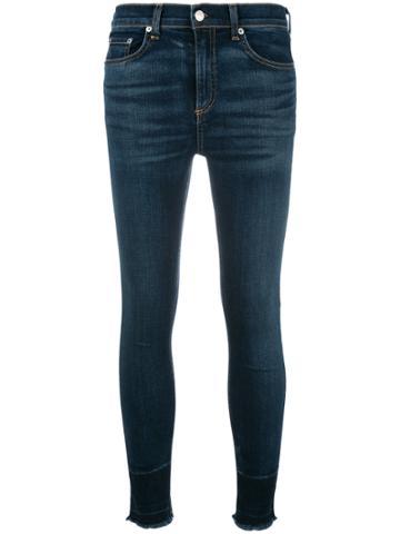 Rag & Bone /jean Stonewashed Skinny Jeans - Blue