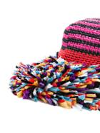 Missoni Knitted Beach Hat - Multicolour
