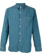 Rrl Patterned Denim Shirt