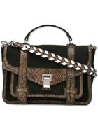 Proenza Schouler Ps1 Satchel - Black
