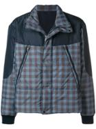 Qasimi Padded Coat - Blue