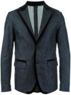 Dsquared2 Denim Blazer, Men's, Size: 48, Blue, Cotton/spandex/elastane/viscose/cotton