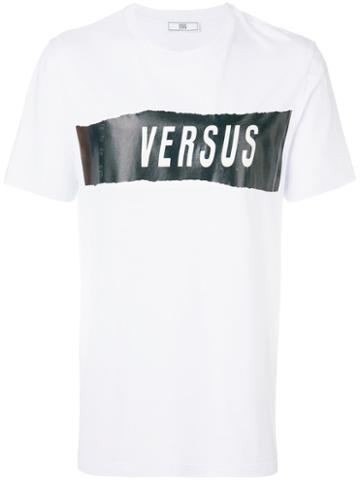 Versus - Zayn X Versus Logo Graphic T-shirt - Men - Cotton - S, White, Cotton