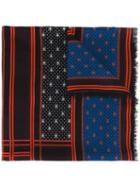 Givenchy Patterned Scarf, Women's, Wool