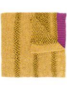 Missoni Knitted Scarf - Yellow & Orange