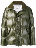 Yves Salomon Army Padded Hooded Jacket - Green