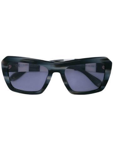 Carolina Herrera Oversized Frame Sunglasses - Black