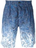 Etro Gradient Paisley Print Shorts