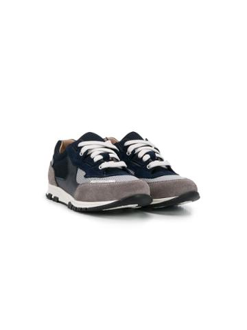 Lanvin Enfant Teen Lace-up Sneakers - Blue