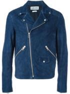 Loewe Suede Biker Jacket