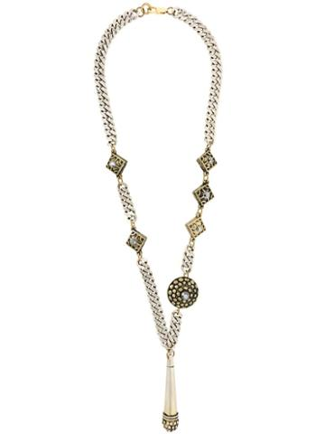Jean Paul Gaultier Pre-owned Claire Deve Necklace - Metallic