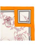 Haider Ackermann Patterned Scarf - White