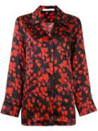 Givenchy Abstract Floral Print Shirt