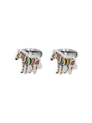 Paul Smith Zebra Cuflinks - Multicolour
