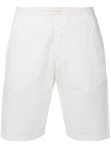 Romeo Gigli Vintage Classic Bermuda Shorts - White