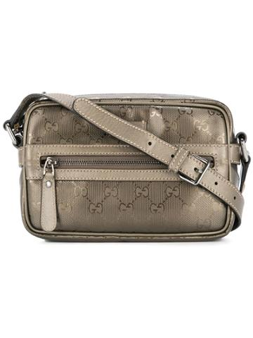 Gucci Vintage Gucci Gg Pattern Cross Body - Brown