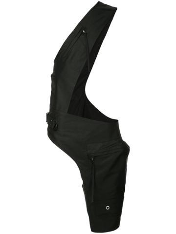 Rick Owens Cross Cargo Chap Belt Bag - Black