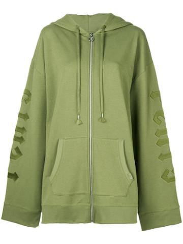 Puma - Harness Zipped Hoodie - Women - Cotton/polyester/spandex/elastane - M, Green, Cotton/polyester/spandex/elastane