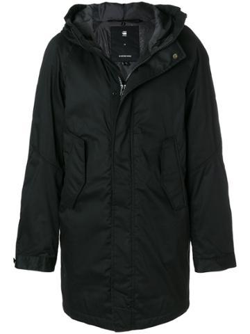G-star Hooded Coat - Black