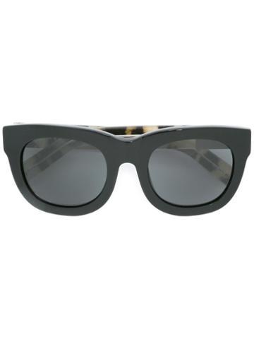 3.1 Phillip Lim - 3.1 Phillip Lim X Linda Farrow 159 C2 Sunglasses - Women - Brass/plastic/glass - One Size, Black, Brass/plastic/glass