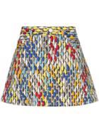 Simon Miller Printed Mini-skirt - 10044 Multicoloured