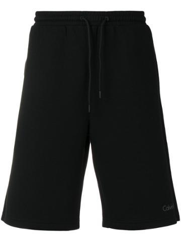 Calvin Klein Underwear Logo Track Shorts - Black