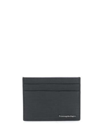 Ermenegildo Zegna Textured Cardholder - Black