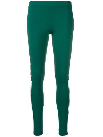 Adidas Trefoil Tights - Green