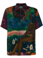 Rassvet Gauguin Print Shirt - Purple