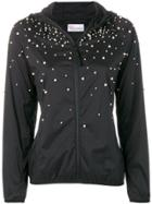 Red Valentino Faux-pearl Embellished Jacket - Black