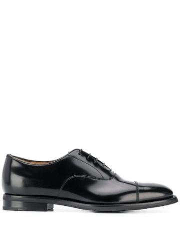 Church's Leather Oxford Shoes - Black