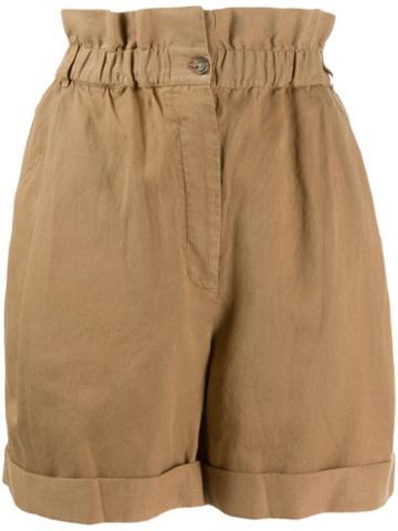 Frame Harem Short Shorts - Neutrals